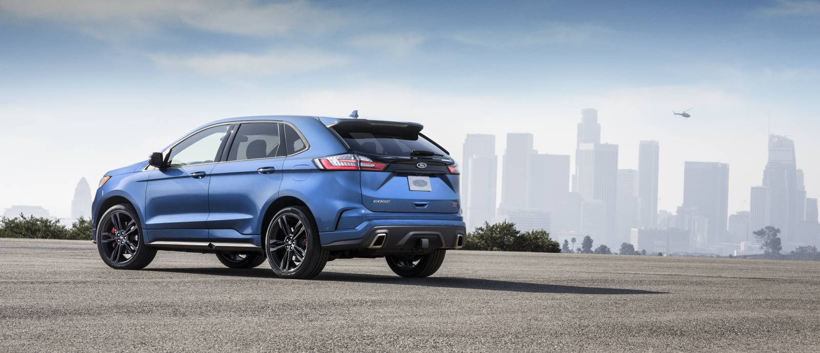 2019 Ford Edge ST 3/4 Rear View