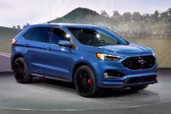 2019 Ford Edge ST Driving Photo