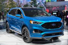 2019 Ford Edge ST Media Press Introduction