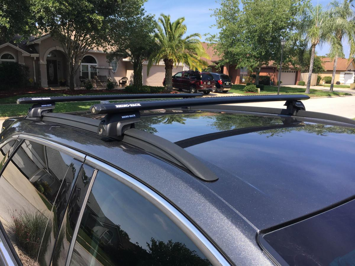 Roof Rack For Edge With Factory Flush Rails Cargo